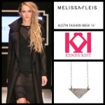 AFW Kenda triangle necklace