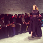 Black runway David Tlale