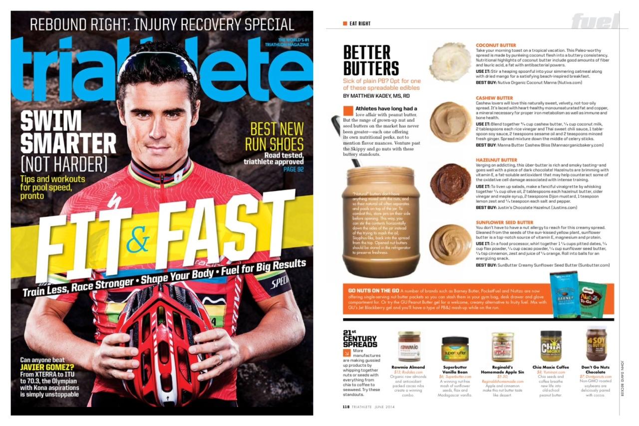 Don't Go Nuts - Triathlete Mag June 2014