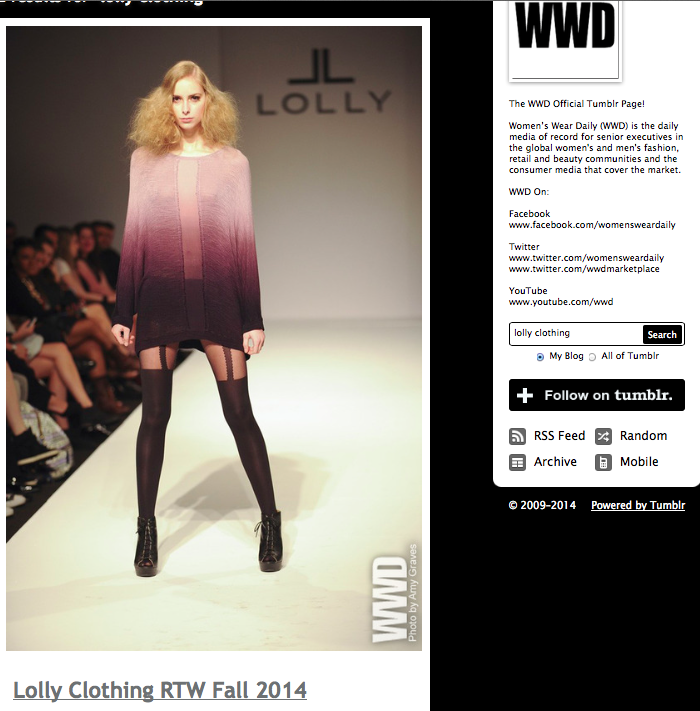 LOLLY WWD ombre - Tumblr May 2014