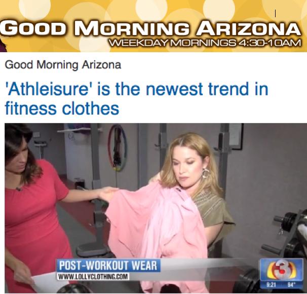 LOLLY on Good Morning Phoenix
